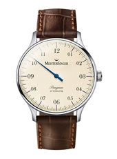 Pangaea 40mm Beige One Hand Automatic Watch