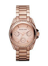 Michael Kors Blair-Mini-Rose-Gold-Glitz MK5613 - 2012 Spring Summer Collection