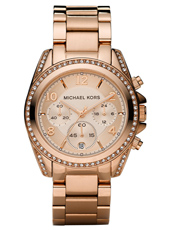 Michael Kors Blair-Rose-Gold-Glitz MK5263 - 2010 Fall Winter Collection