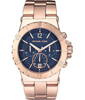 Michael Kors Dylan-Rose-Gold-&-Blue MK5410 - 2011 Spring Summer Collection