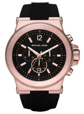 Michael Kors Dylan-Black-&-Rose-Gold MK8184 -