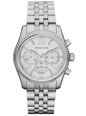 Michael Kors Lexington-Chrono-Silver MK5555 - 2012 Fall Winter Collection