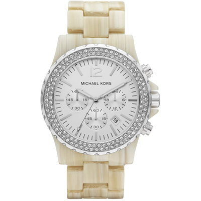 Michael Kors Madison-Horn-&-Silver MK5598 - 2012 Spring Summer Collection