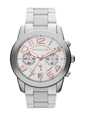 Michael Kors Mercer-Medium-Silver MK5725 -