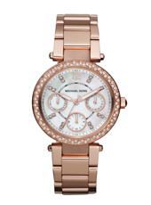 Michael Kors Parker-Mini-Rose-Gold-Glitz MK5616 - 2012 Spring Summer Collection