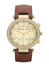 Michael Kors Parker-Leather-Gold-Glitz MK2249 -