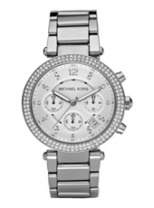 Michael Kors Parker-Silver-Glitz MK5353 - 2010 Fall Winter Collection