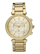 Michael Kors Parker-Gold-Glitz MK5354 - 2010 Fall Winter Collection
