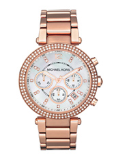 Michael Kors Parker-Rose-Gold-Glitz MK5491 - 2011 Fall Winter Collection
