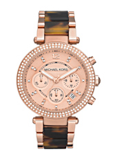 Michael Kors Parker-Tortoise-&-Rose-Gold MK5538 - 2011 Fall Winter Collection