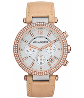 Michael Kors Parker-Leather-Rose-Glitz MK5633 - 2013 Spring Summer Collection