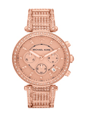 Michael Kors Parker-Rose-Gold-Super-Glitz MK5663 - 2012 Fall Winter Collection