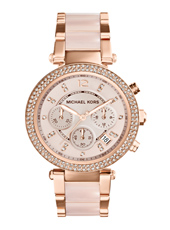 Parker 39mm Rose Gold Lady Chrono Watch