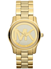 Michael Kors Gold-Coated-Stainless-Logo MK5786 - 2013 Spring Summer Collection