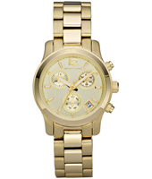Michael Kors Runway-Mini-Chrono-Gold MK5384 - 2011 Fall Winter Collection