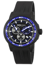 MD1164BKRB-02B MD1164 Pilot Pro  46mm Black & blue pilot chrono with date