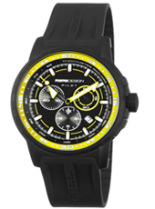 MD1164BKRB-05B MD1164 Pilot Pro  46mm Black & yellow pilot chrono with date