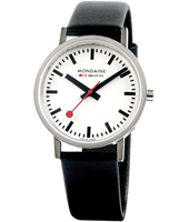 Classic Gent 36mm Shiny Swiss Made Design Watch