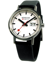Mondaine Classic-Date-Matte-Leather A669.30008.16SBO - 2011 Spring Summer Collection