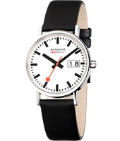 Mondaine Classic-Date-White a627.30314.11sbb - 2011 Fall Winter Collection