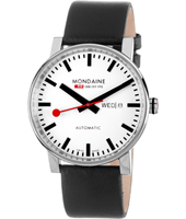 Mondaine Mon-40-Auto-Day-date-White A132.30348.11SBB - 2012 Fall Winter Collection
