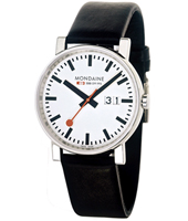 Mondaine Evo-Gents-Jumbo-Big-Date-White A627.30303.11SBB - 2011 Fall Winter Collection