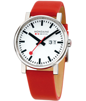 Mondaine Evo-Gents-Jumbo-Big-Date-Red A627.30303.11SBC - 2012 Spring Summer Collection