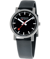 Mondaine Evo-Gents-Black A658.30300.14SBB - 2011 Spring Summer Collection