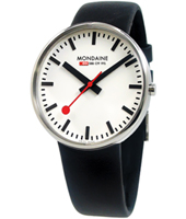 Mondaine Evo-Gents-Giant-White A660.30328.11SBB - 2011 Spring Summer Collection