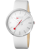 Mondaine Evo-Giant-White-Silver A660.30328.16SBA - 2012 Spring Summer Collection