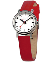 Evo Lady 26mm Red Swiss Made Design Watch
