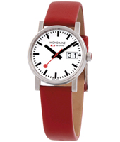 Mondaine Evo-Ladies-Big-Date-Red A669.30305.11SBC -