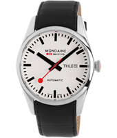 Mondaine Retro-42-Auto-Day-date-White A132.30345.11SBB - 2012 Fall Winter Collection