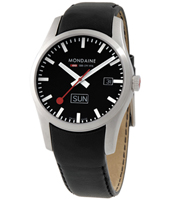 Mondaine Retro-Day-Date-Black A667.30340.14SBB -