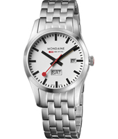 Mondaine Retro-Day-Date-Steel A667.30340.16SBM - 2011 Spring Summer Collection