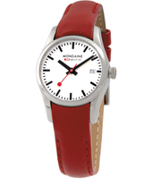 Mondaine Retro-Date-Red A629.30341.11SBC - 2012 Spring Summer Collection
