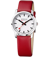 Mondaine Simply-Elegant-Ladies-Red A672.30351.11SBC -