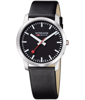 Mondaine Simply-Elegant-Gents-Black A672.30350.14SBB -  