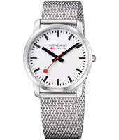 Mondaine Simply-Elegant-Gents-Silver A672.30350.16SBM -  
