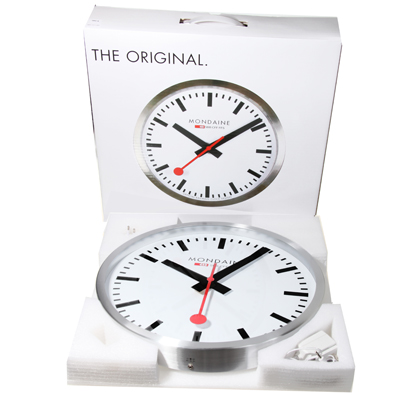 Mondaine a995 clocks clock wall clock 40cm - Mondaine wall clocks ...