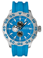 Nautica BFD-100-XL-Day-Date-Blue A15579G -