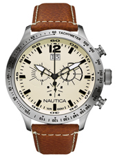 Nautica BFD-101-XL-Chrono-Brown A19565G - 2012 Spring Summer Collection