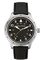 A10097G BFD 105 44mm Black Gents Watch with Date