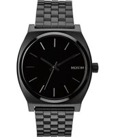 Time Teller  37mm Midnight Black Quartz Watch