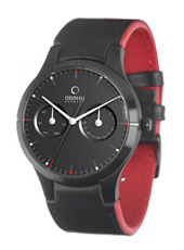 Obaku V100G-DayDate-Black V100GBBRB1 - 2012 Fall Winter Collection