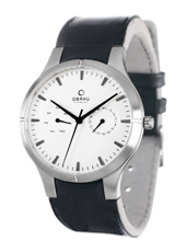 Obaku V100G-DayDate-White V100GCIRB1 - 2012 Fall Winter Collection