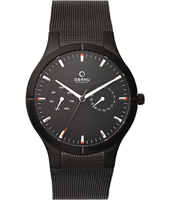 Obaku V100G-DayDate-Black-Milanese V100GBBMB - 2011 Spring Summer Collection