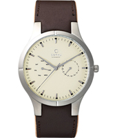 Obaku V100G-DayDate-Brown V100GCIRN - 2011 Spring Summer Collection