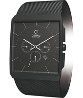 Obaku V126-Gents-Chrono V126GBBMB -  