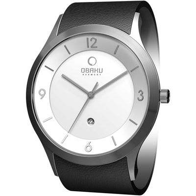 Obaku V132-Extra-Large-Gents V132XCIRB - 2011 Spring Summer Collection